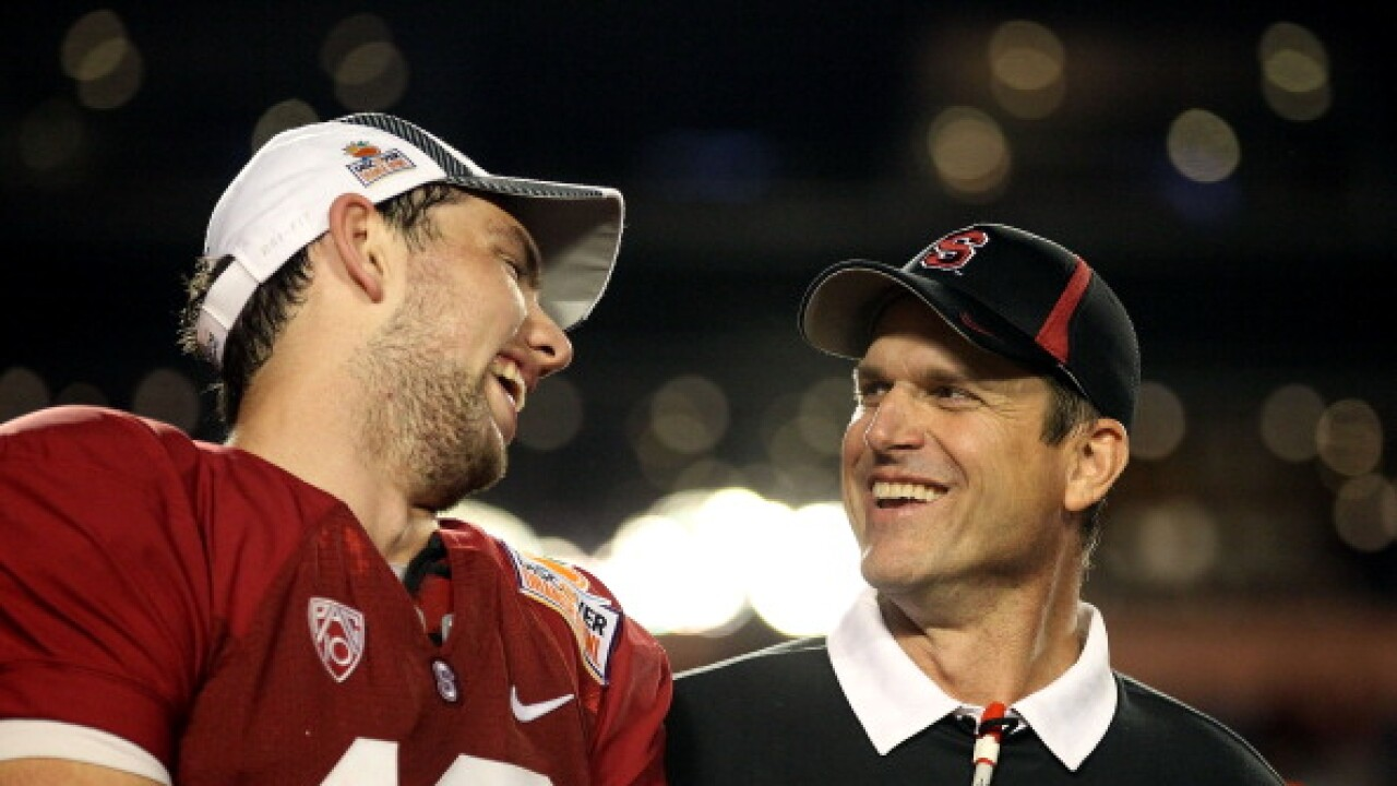 Andrew Luck Jim Harbaugh