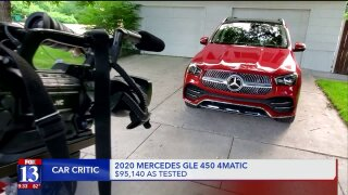 Lights, camera, suspension: Mercedes GLE has it all