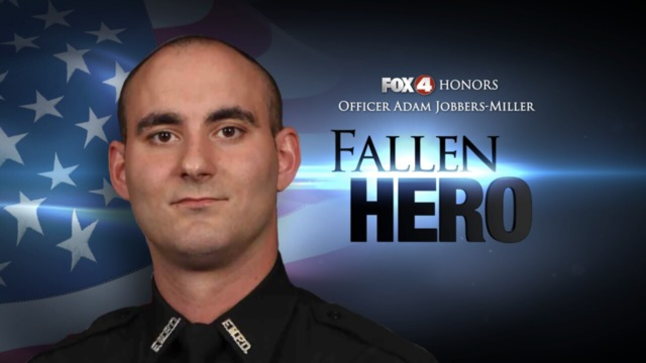 Many pay tribute to fallen officer on social media