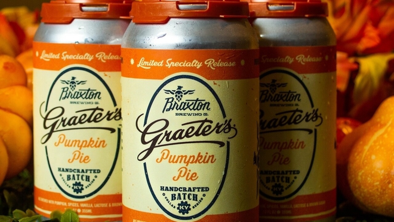 Braxton Brewing Co. and Graeter's Ice Cream team up for Pumpkin Pie Ale