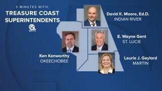 5 Minutes With: Treasure Coast Superintendents