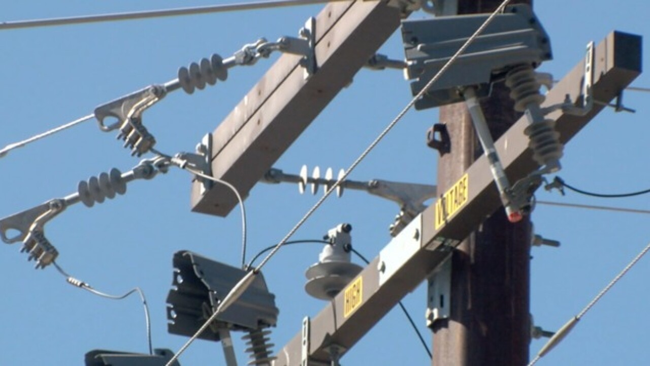 Thousands lose power in North County