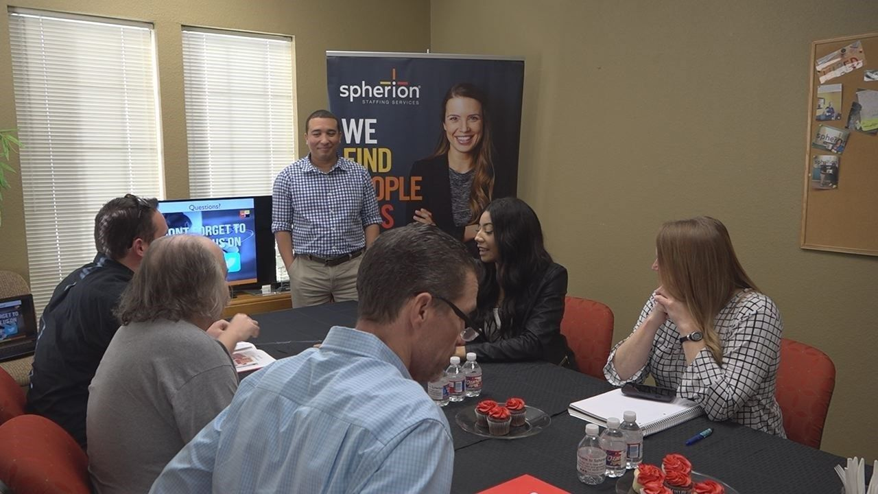 Temple staffing agency hosts Resumania event