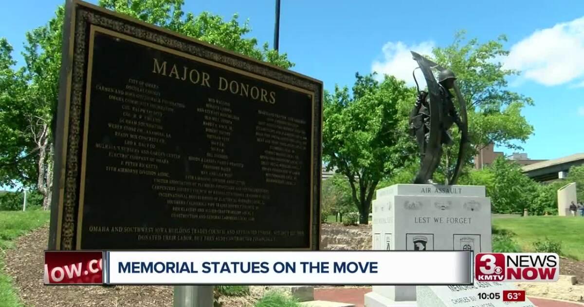 War Memorial Statues Moving to Memorial Park