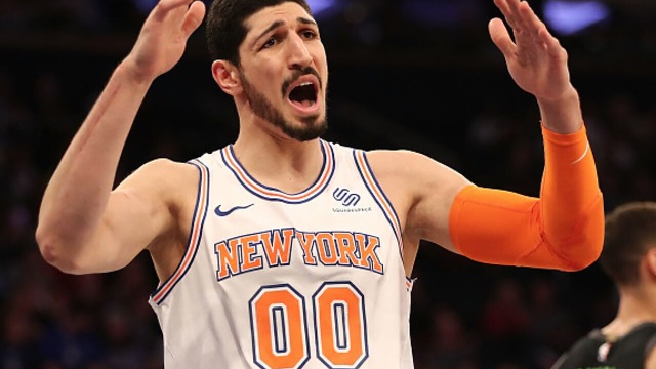 Enes Kanter bashes Bucks: 'You don't leave New York for Milwaukee'