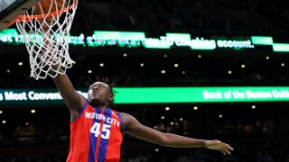Sekou_Doumbouya_Detroit Pistons v Boston Celtics