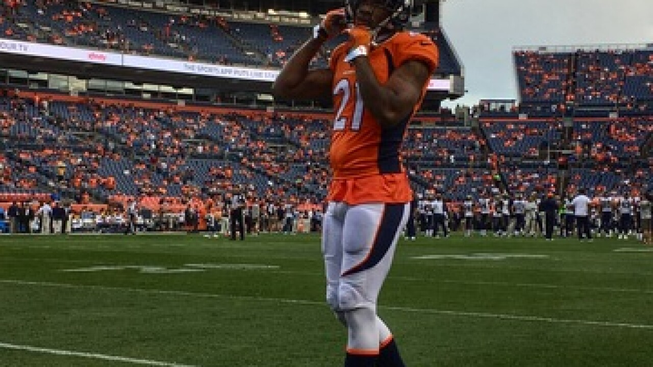 Broncos Aqib Talib ejected after fight with Michael Crabtree 4b02d6177