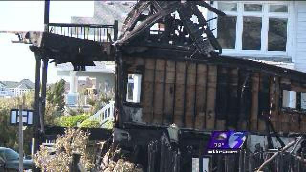 Fire in Corolla rental homes sends vacationers running for their lives