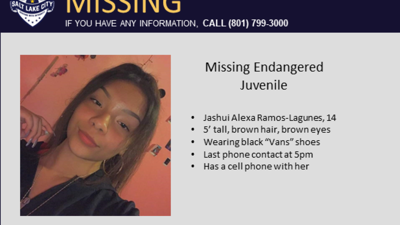 Missing SLC teen found
