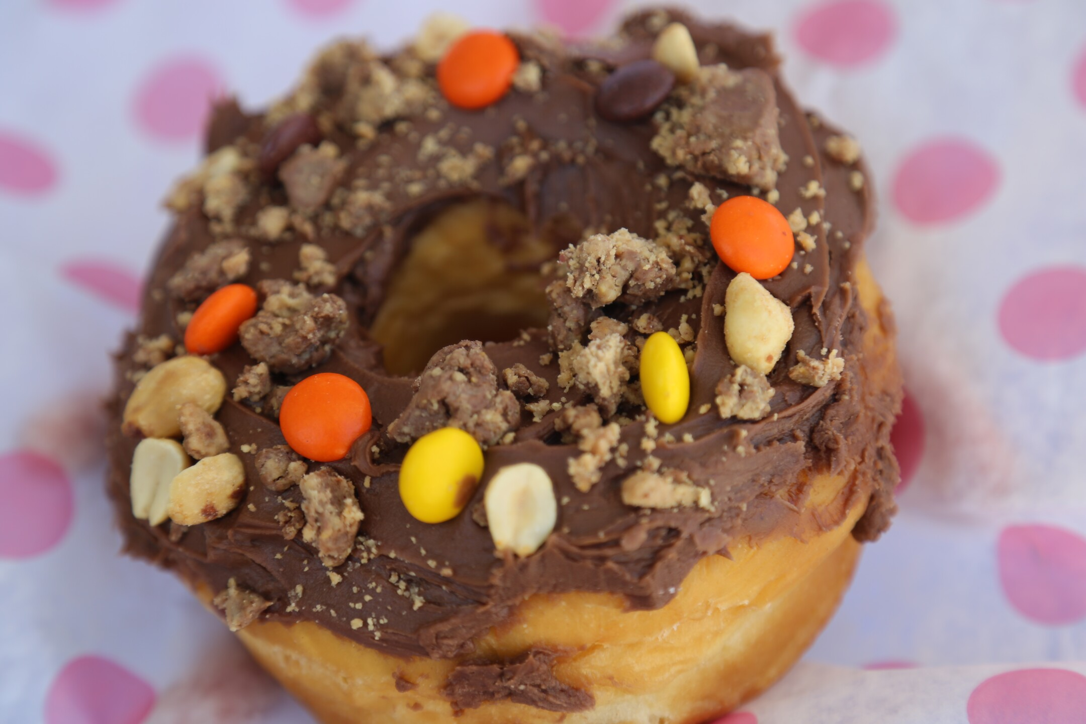 Reese's Peanut Buttercup Donut