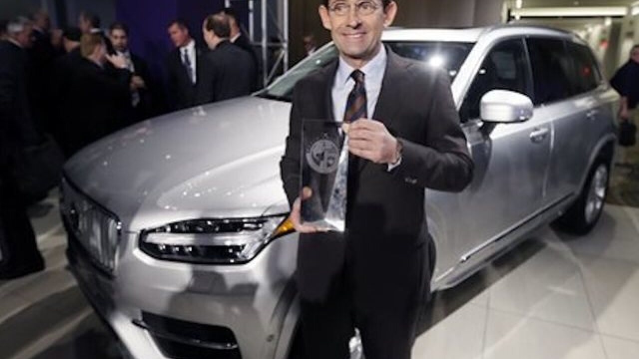 Honda, Volvo take top awards at Detroit show