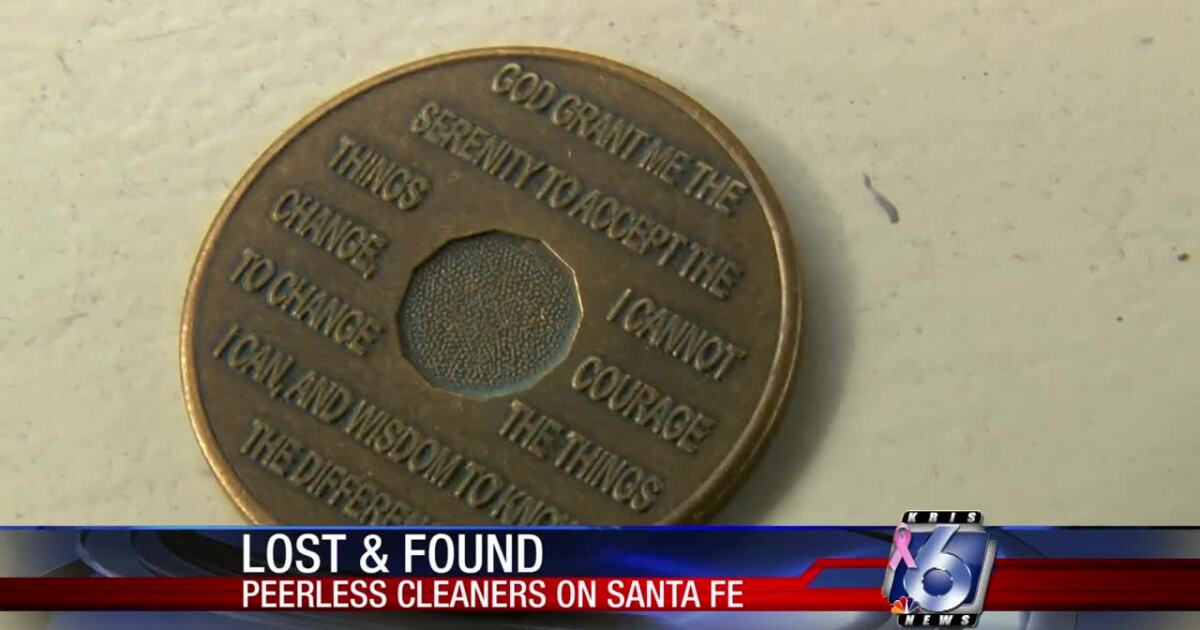 Woman hopes to find rightful owner of found AA medallion