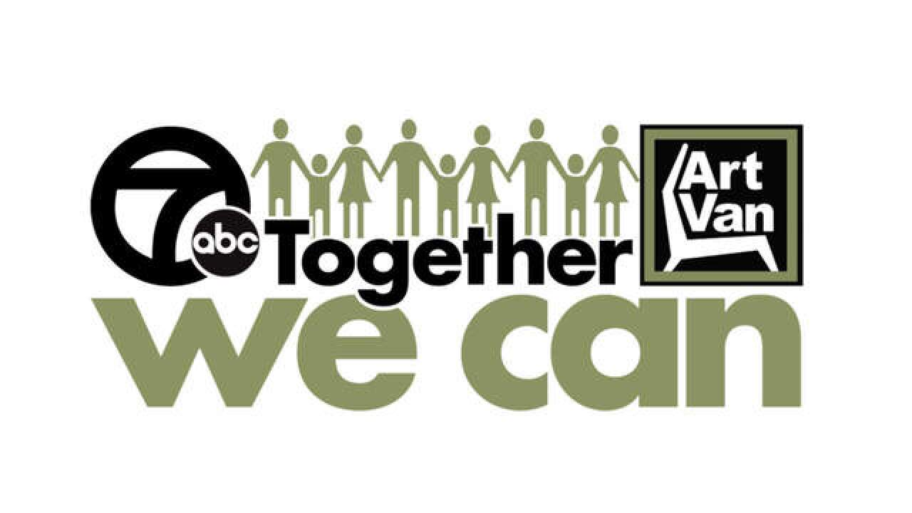 Wxyz Tv Art Van Furniture And Gleaners Teaming Up For Together We Can