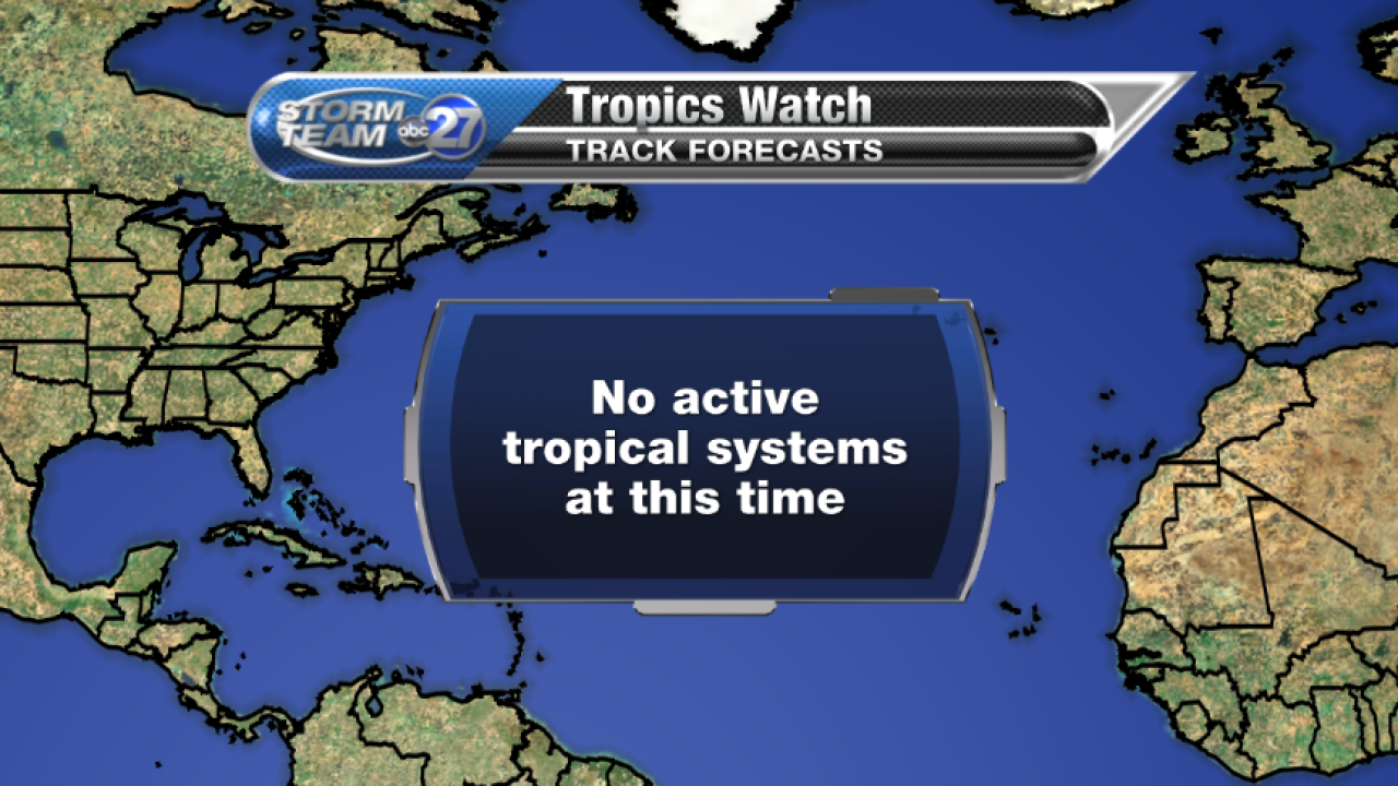 No Active Tropical Systems