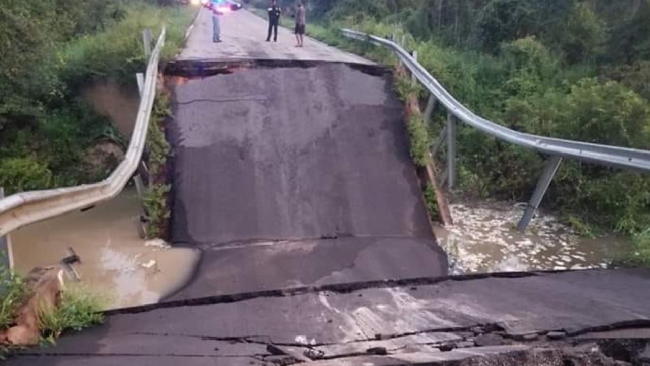 Bridge on road between Florida-Georgia line collapses, causes detours