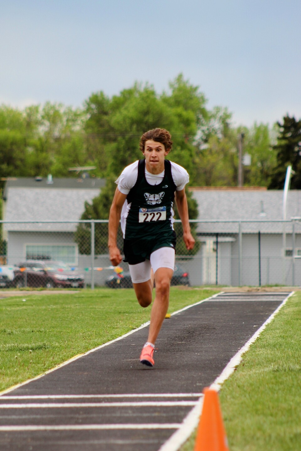 Colby Martinez long jump