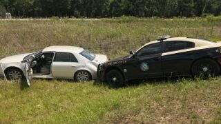 FHP: Nearly naked Florida woman leads troopers on high-speed chase in stolen car