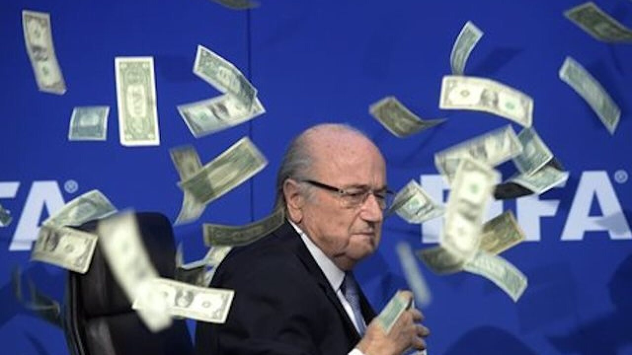 FIFA admits to World Cup hosting bribes