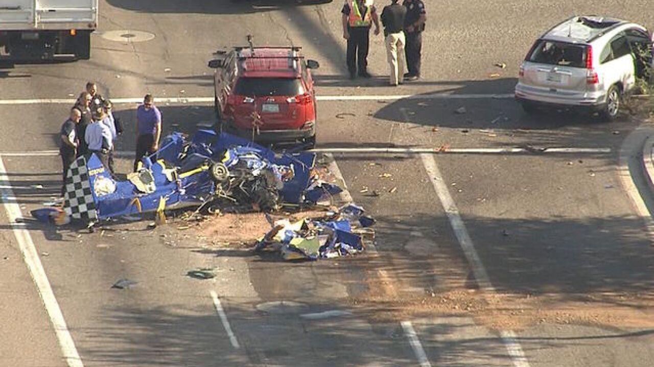 Plane crashes into Phoenix intersection