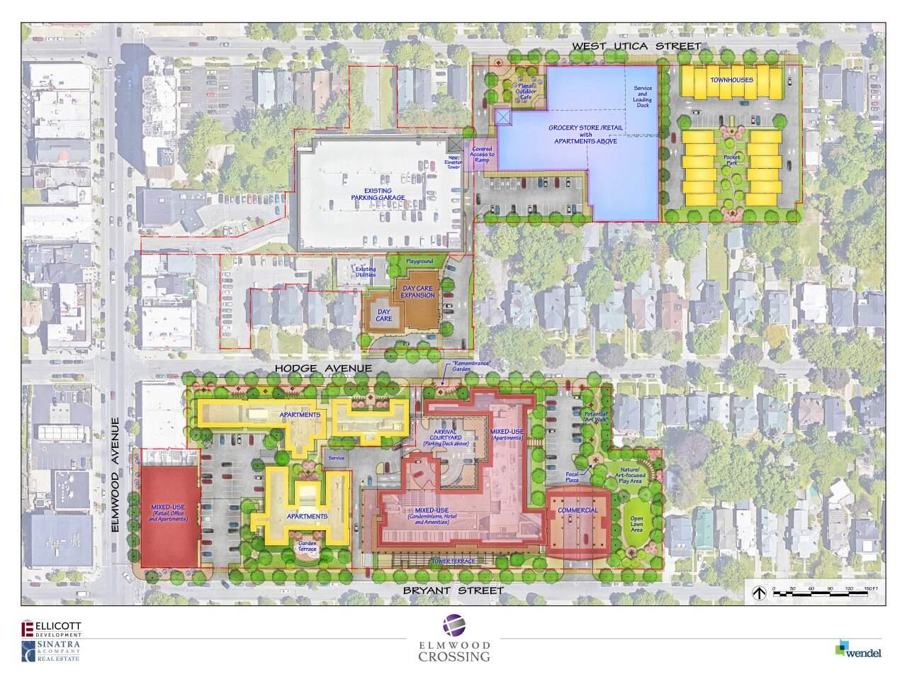 Elmwood Crossing design plans