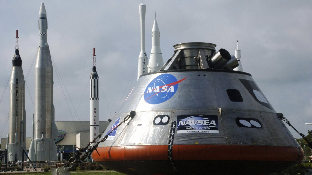 NASA tests abort system for the Orion spacecraft that will carry humans to the moon in 2024