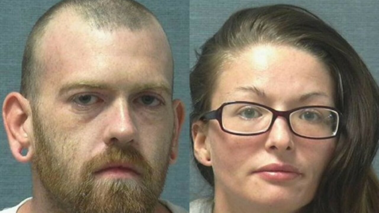 Two arrested in Ohio after overdosing, leaving baby in hot car
