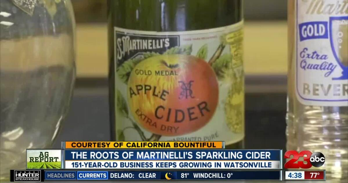The Roots Of Martinelli S Sparkling Cider Success
