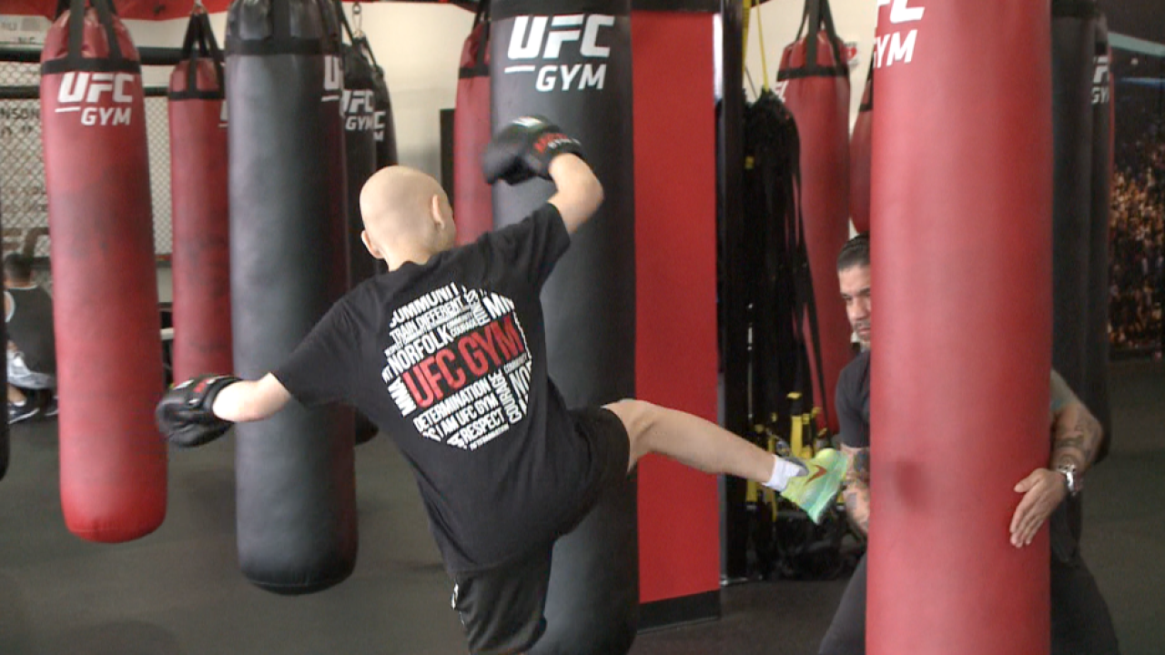 Fight of his life: Norfolk 5th grader takes cancer bout to mixed martial arts
