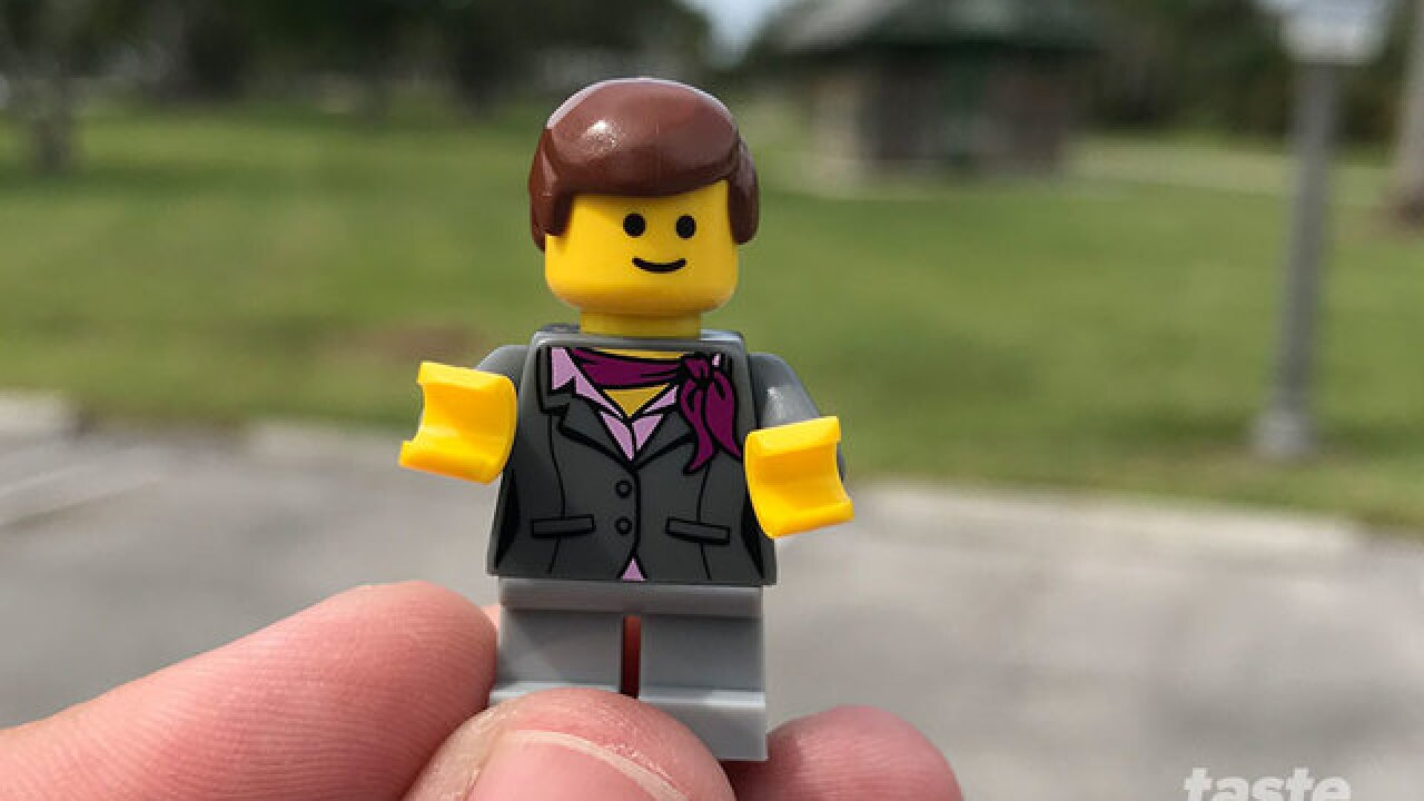 Legos take over the South Florida Science Center and Aquarium