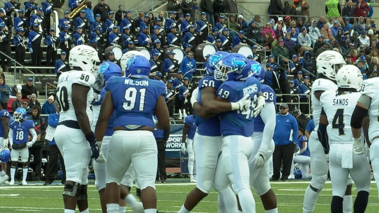 UB beats Akron 24-6, becomes bowl eligible