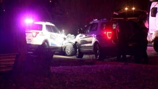 Adams County police chase ends in crash