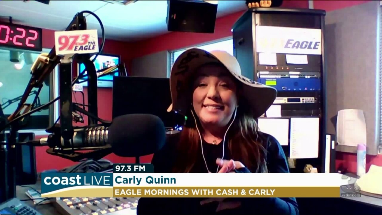Country music news with Carly from 97.3 The Eagle on Coast Live