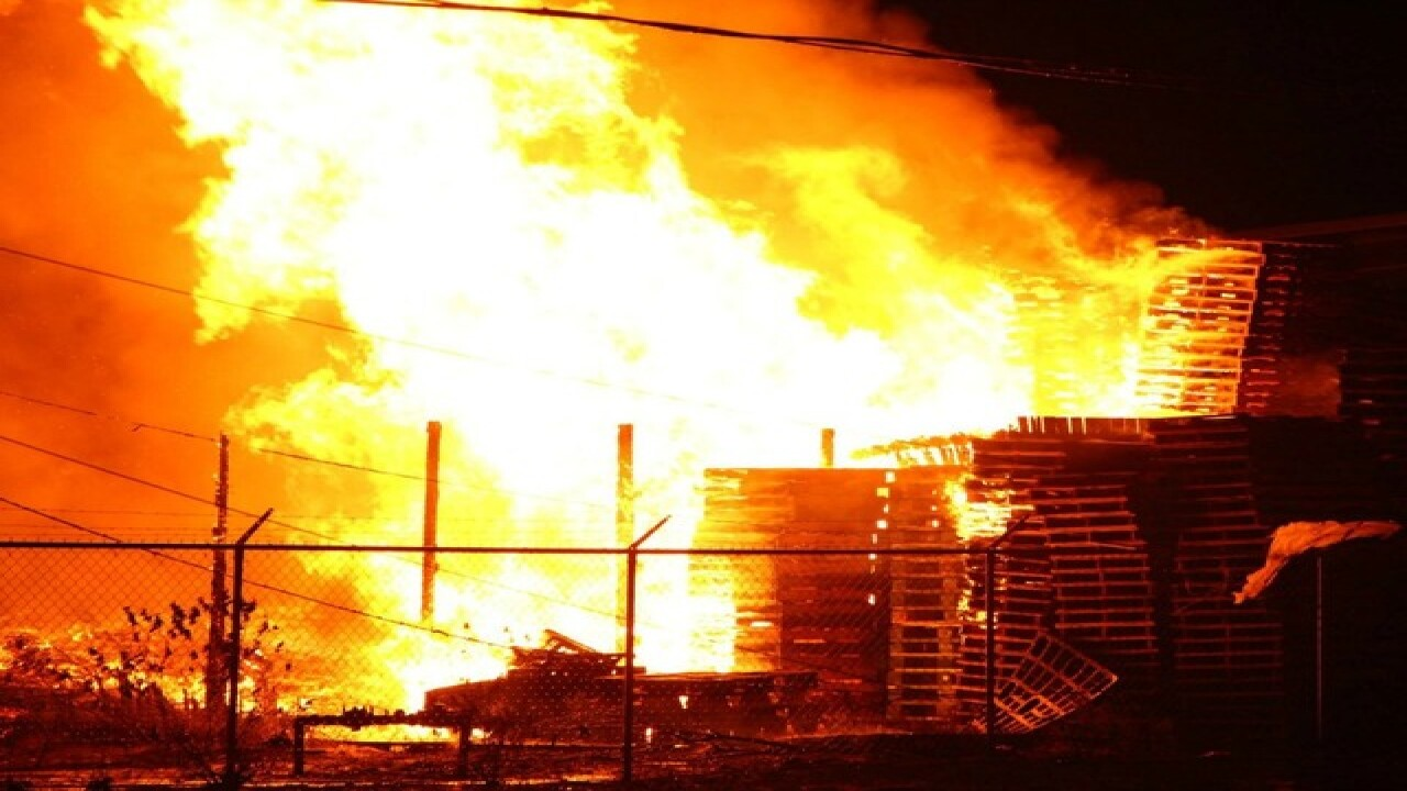 Crews battle large fire at Haines City business