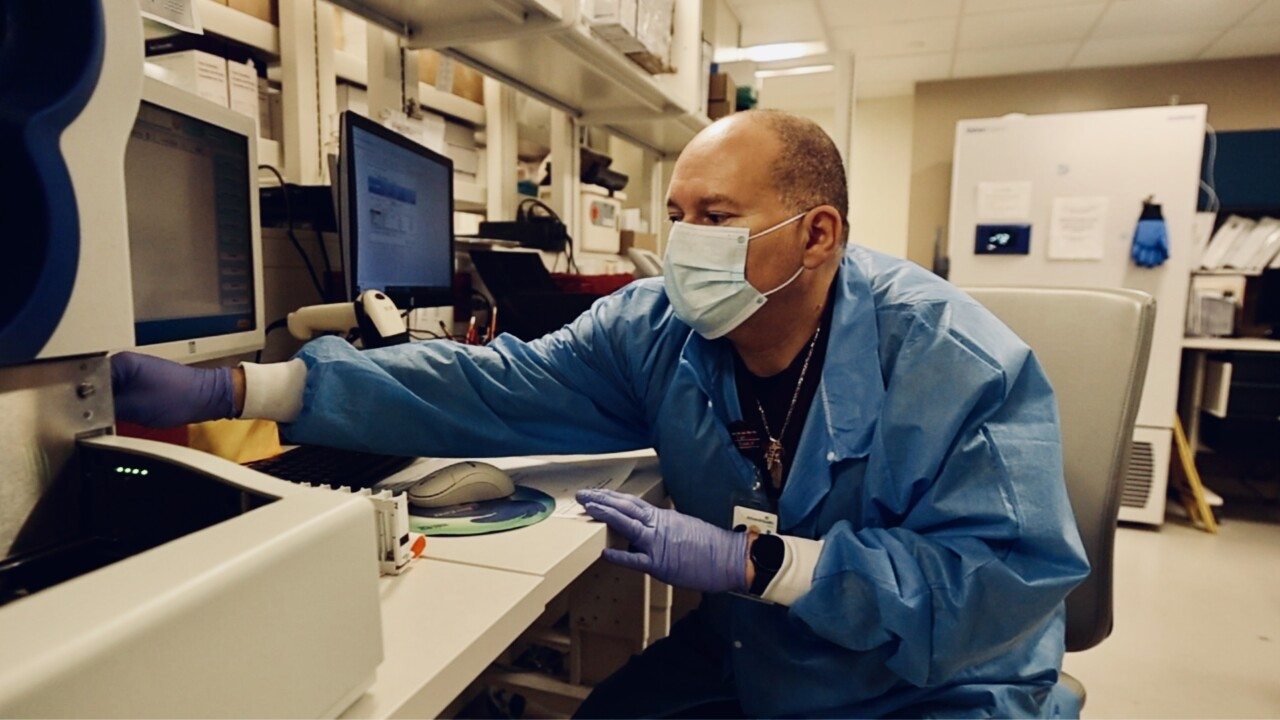Victor Cruz, Medical Technology Supervisor, AdventHealth Tampa.