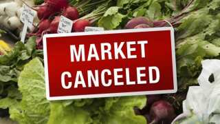 Downtown SLO Farmers' market canceled this week