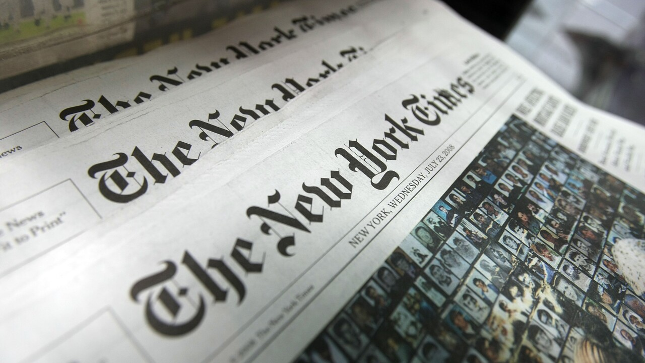 Officials deny Florida library's request for New York Times subscription, calling it 'fake news'