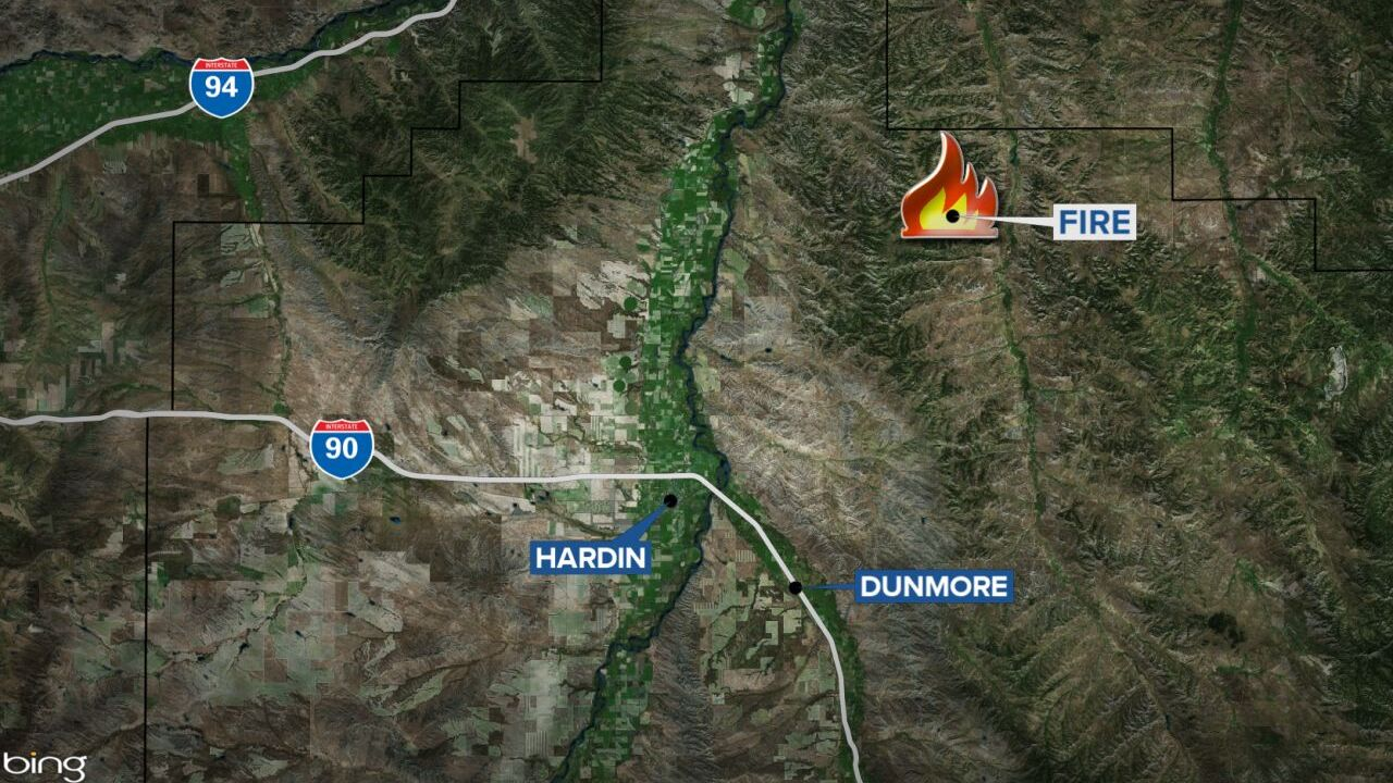 poverty flats fire map