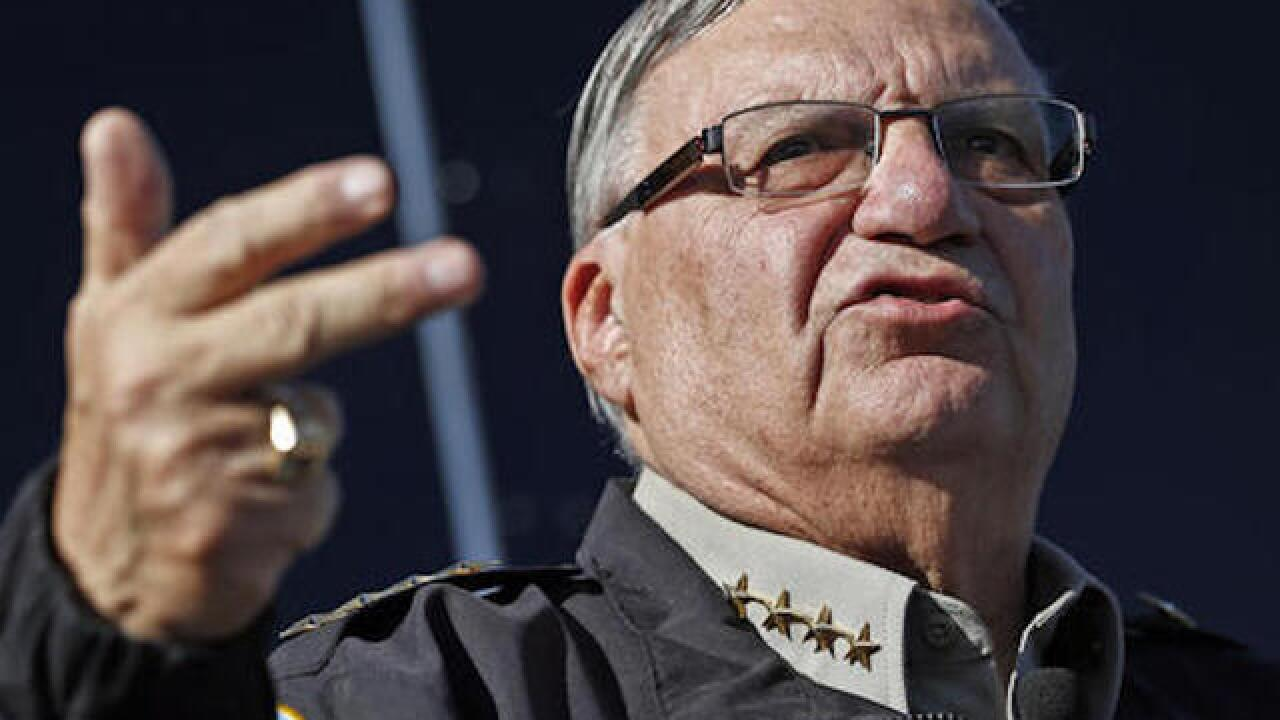 Trump supporter Sheriff Joe Arpaio charged for contempt of court