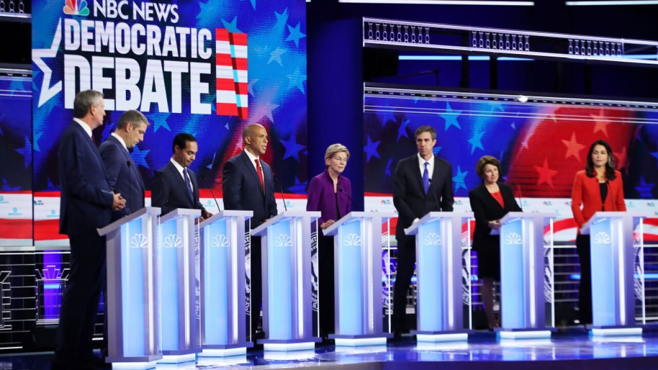 CNN announces 20-person field for next Democratic debates