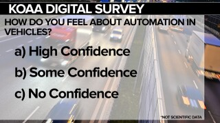 KOAA Survey: How do you feel about automation in vehicles?
