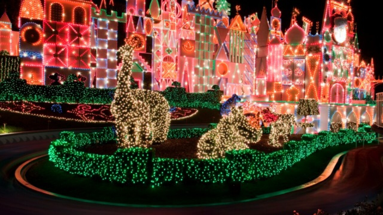 Southern California theme parks ring in the holiday season