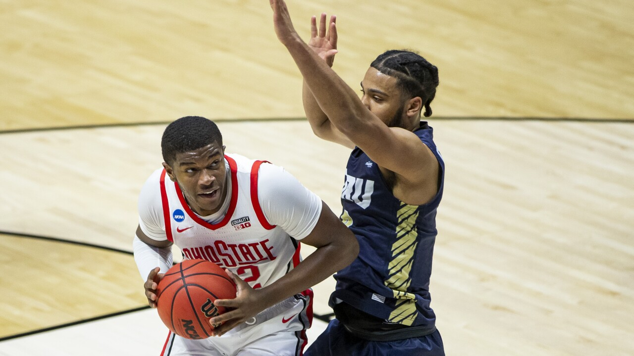 NCAA Ohio St Oral Roberts Basketball