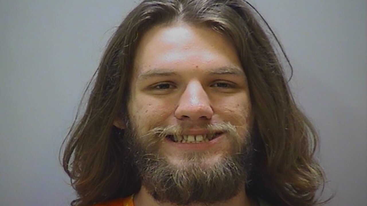 Sheriff: Man stirs the pot by lighting joint in court
