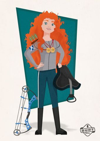 GALLERY: Disney princesses illustrated as career women to encourage girls to think like bosses