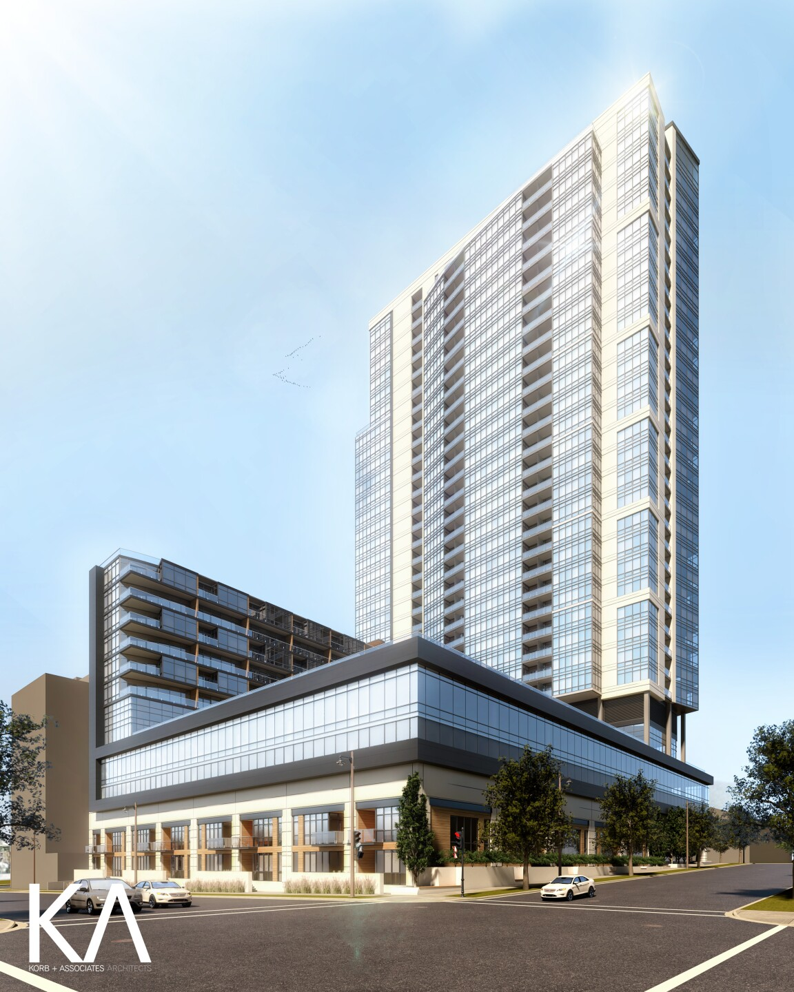 Convent Hill renderings for new apartment complex in downtown Milwaukee