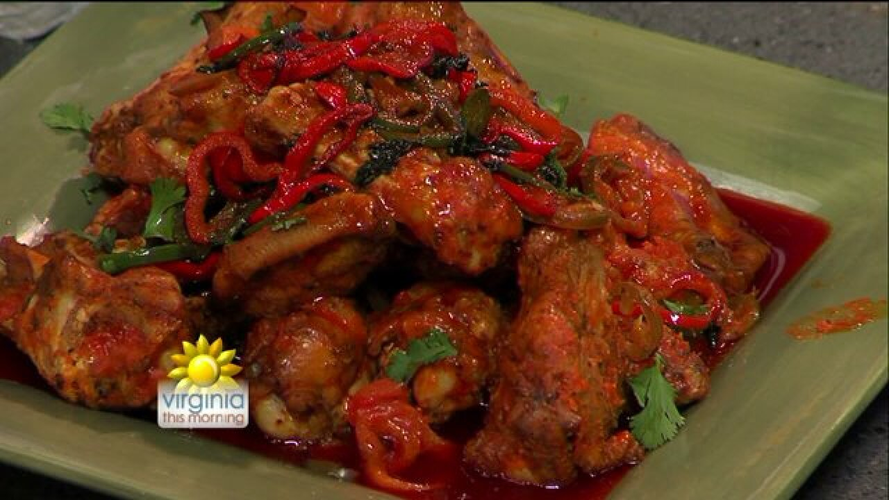 Spice things up with Steven Raichlen's 'Fire-Eater' Chicken Wings