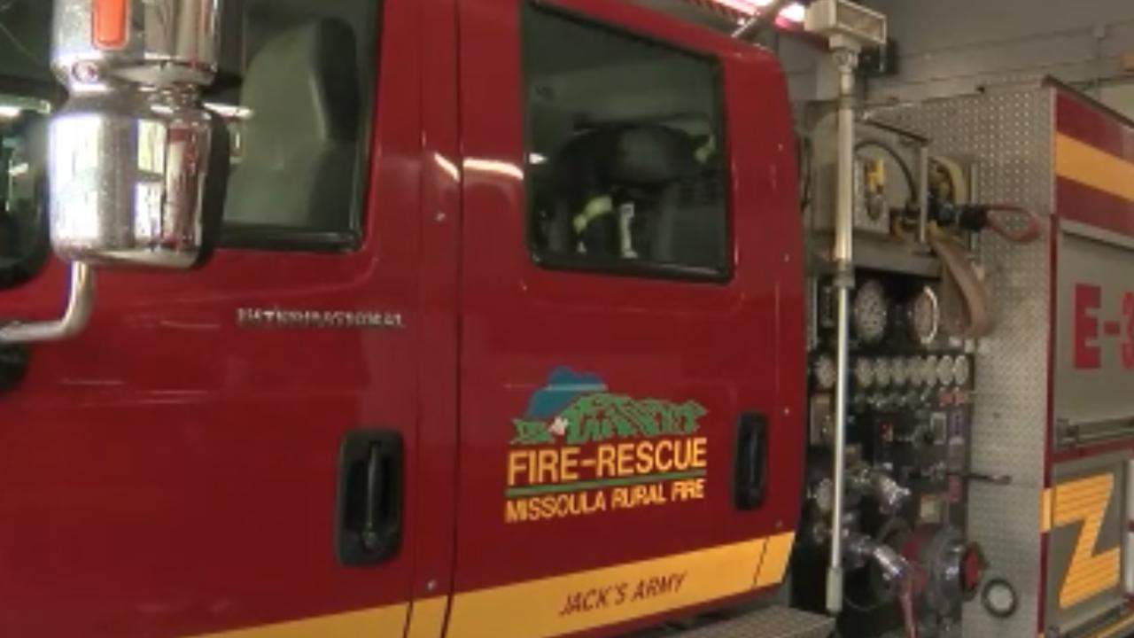 Missoula Rural Fire District MRFD engine