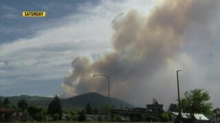 Lump Gulch Fire holds steady at about 1,500 acres