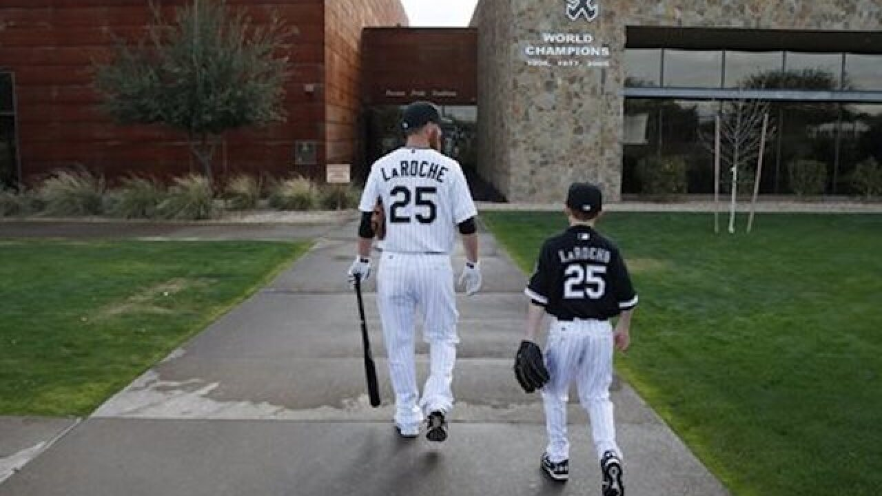Family first: LaRoche retires from baseball