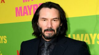 Keanu Reeves Left A Message On This Family's Yard Sign While Filming In Louisiana